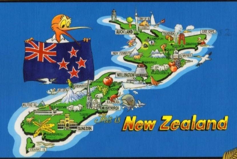 Berita New Zealand Gallery: Bendera New Zealand Berubah, Ini Sikap Australia