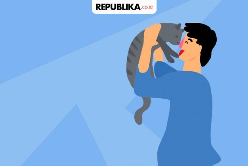 Ngobrol dengan hewan peliharaan bantu jaga kesehatan mental.