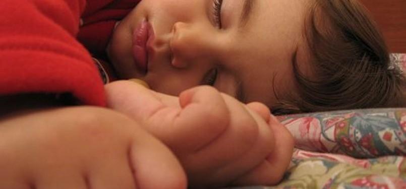 Anak tertidur/ilustrasi