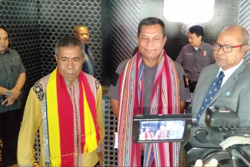 nota kesepahaman (Memorandum of Understanding (MoU) PB Perbakin dengan Timor Leste di Lapangan Tembak Senayan, Jakarta, Sabtu (24/08) pagi.