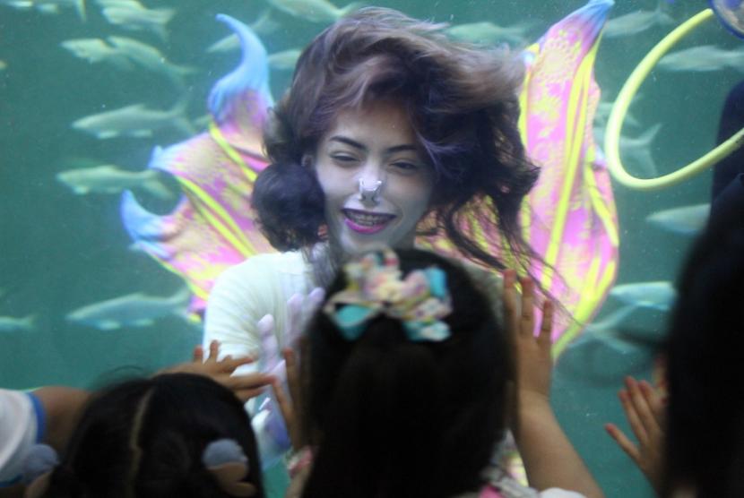 Ocean Dream Samudra akan mempersembahkan sebuah pertunjukan seru dan atraktif bertajuk Magical Wondersea.