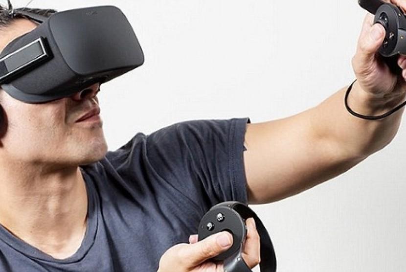 Virtual reality (Ilustrasi).