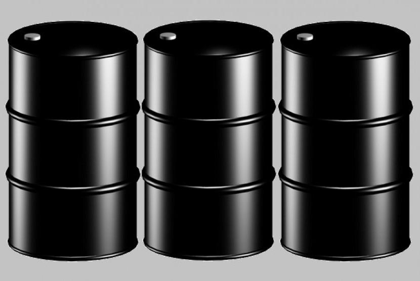 Oil barrel (illustration)