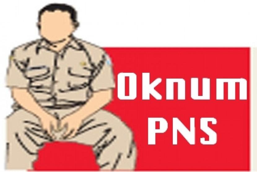 Oknum PNS (ilustrasi)