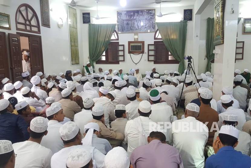 Open House (Uwadan) di kediaman Al Habib Umar Bin Hafidz