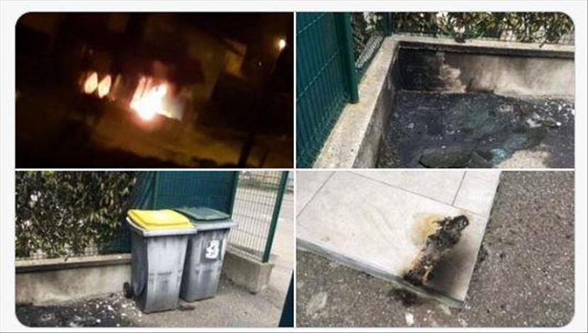 Orang tak dikenal berupaya membakar masjid di kota Albertville, Prancis