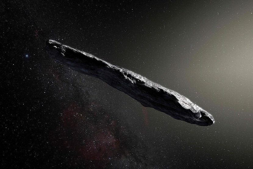 Teori Baru tentang Asal-usul Benda Antariksa Oumuamua