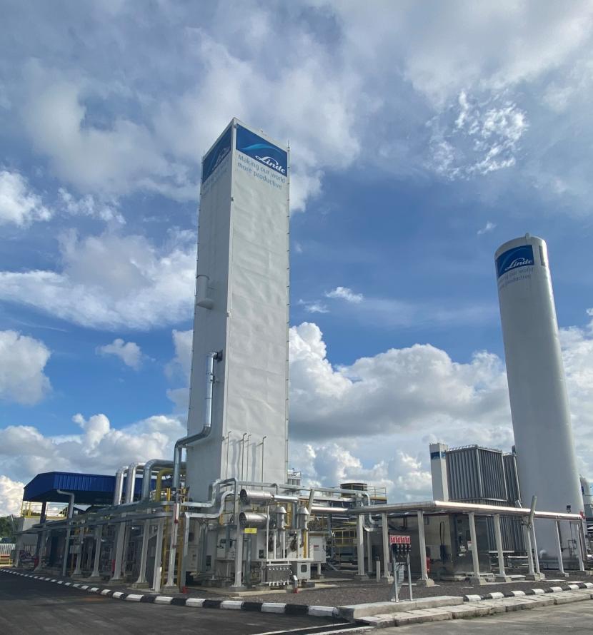 Pabrik Linde (ilustrasi)