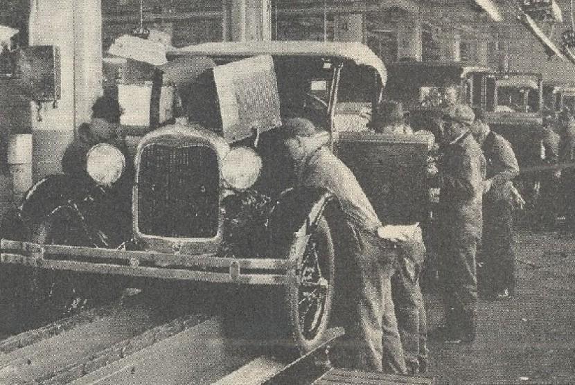 Pabrik pertama Ford di Detroit
