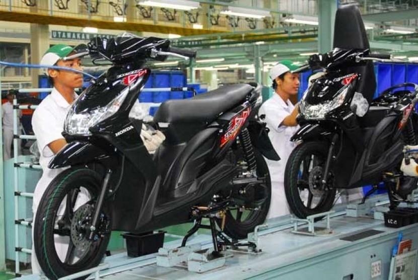 Pabrik skutik Honda