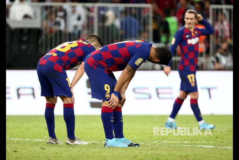 Luis Suarez Kecewa Soal Kritik Pemangkasan Gaji
