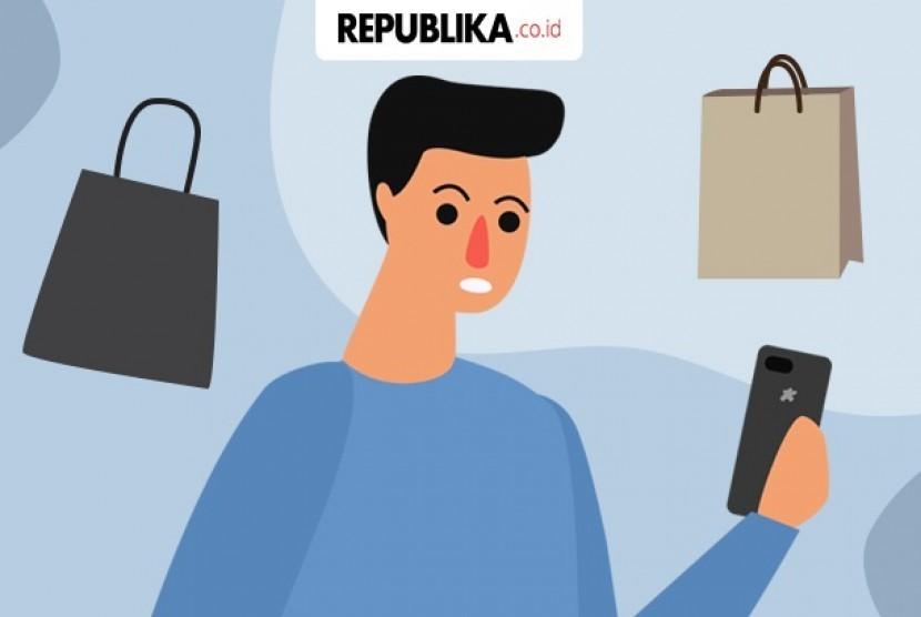 Pakai ponsel bikin belanja jadi lebih boros