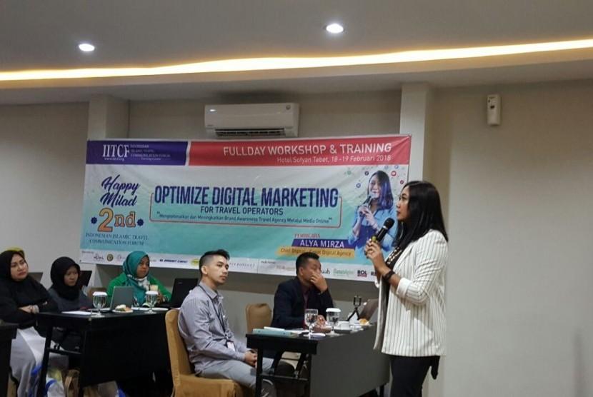 IITCF Gelar Seminar Digital Marketing untuk Travel Muslim ...
