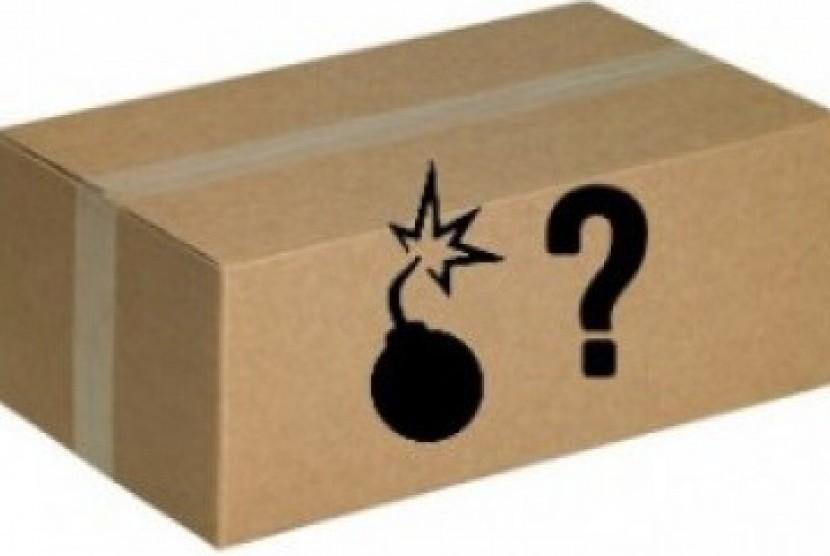 Paket bom. ilustrasi