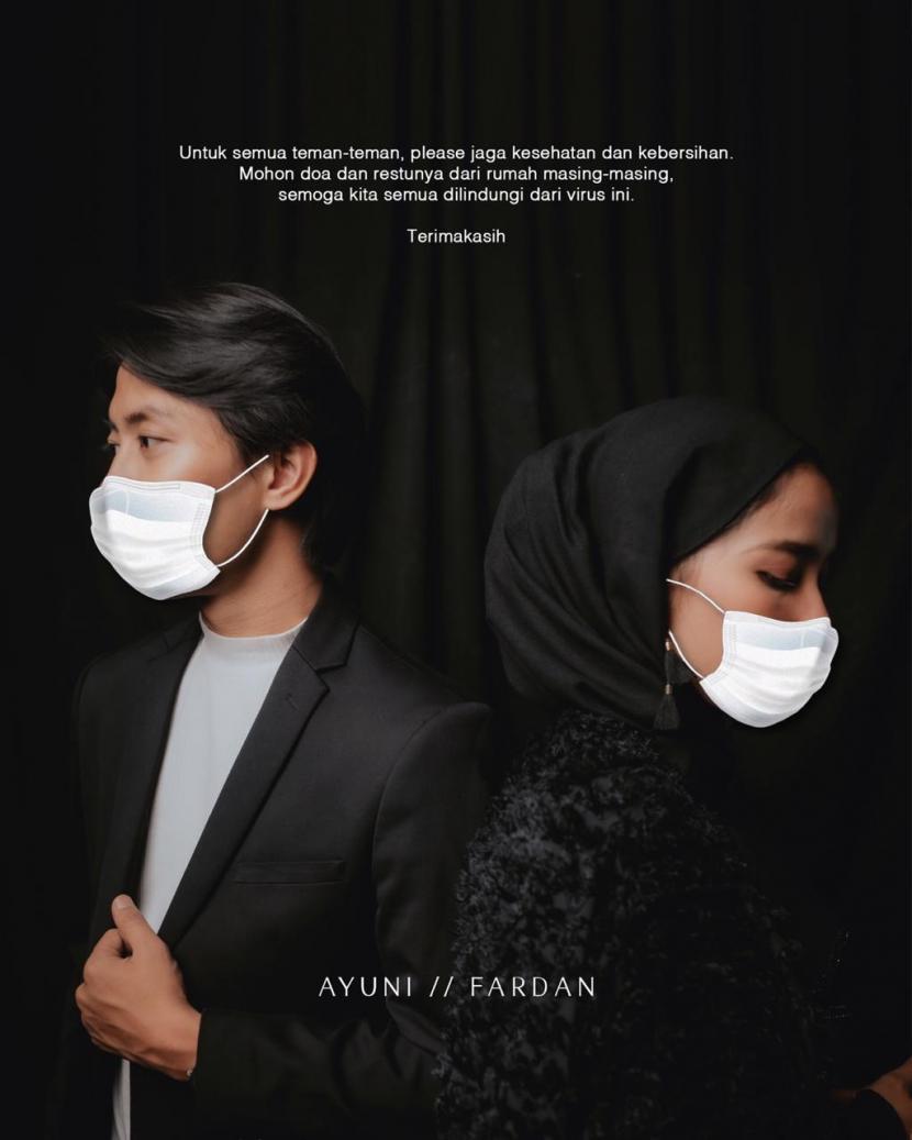 Pandemi Corona Calon Pengantin Tunda Resepsi Pernikahan