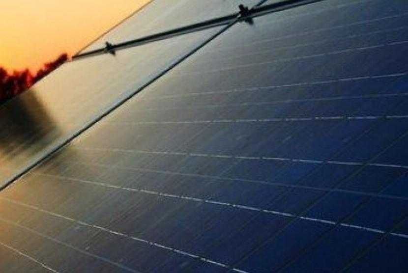 Panel energi tenaga surya. (ilustrasi)