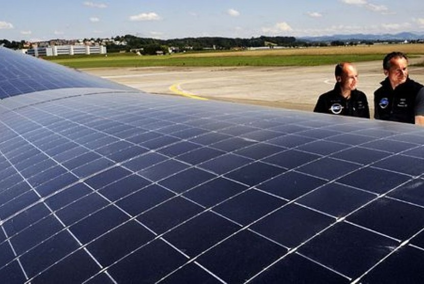 Panel solar impulse