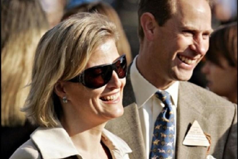 Pangeran Edward dan the Countess of Wessex Sophie