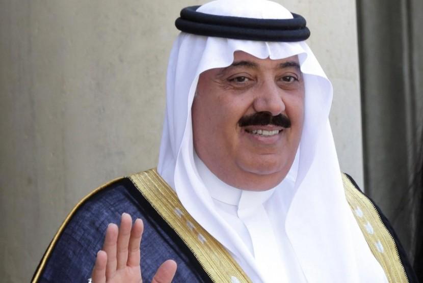 Pangeran Miteb bin Abdullah dari Arab Saudi.