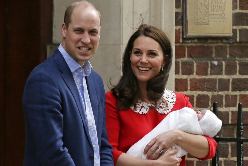 Pangeran William dan Kate Middleton.