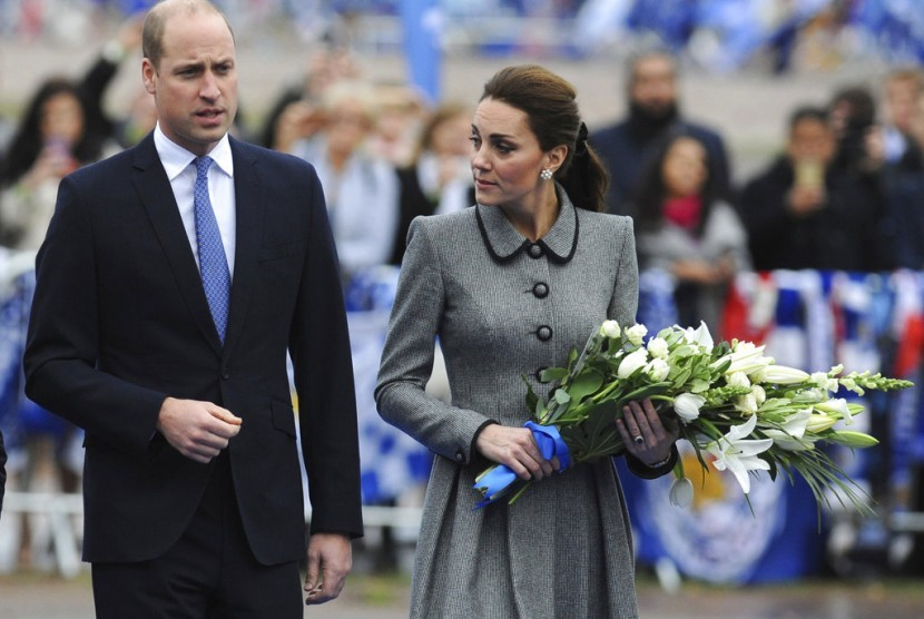 Pangeran William dan Kate Middleton.