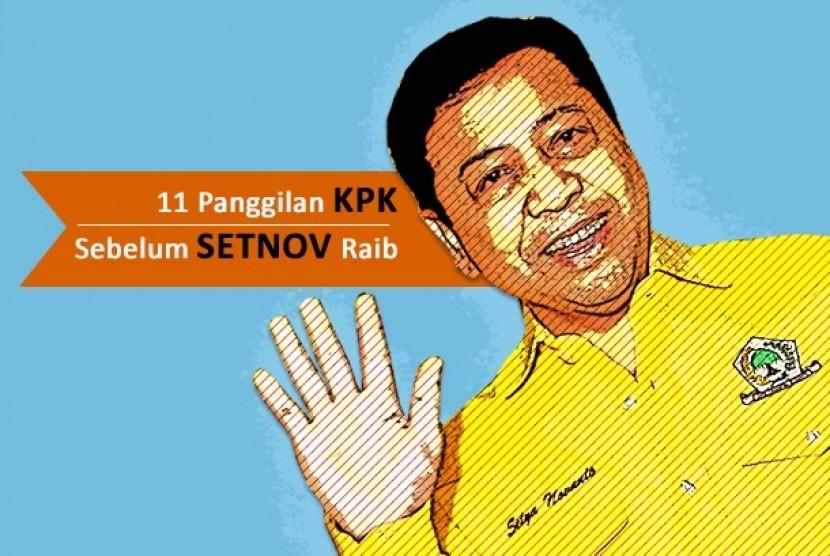 Panggilan KPK untuk Setnov