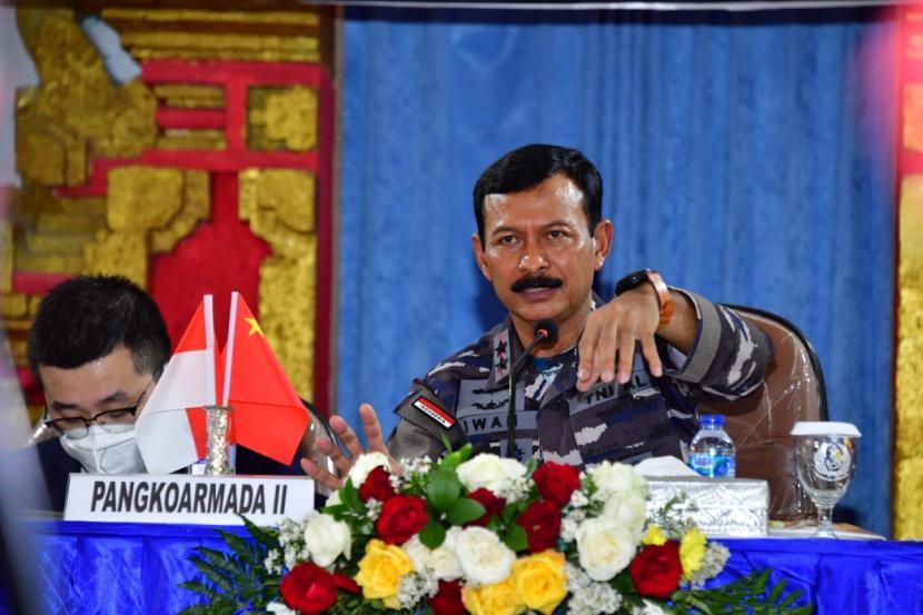 Pangkoarmada II Laksamana Muda (Laksda) Iwan Isnurwanto.