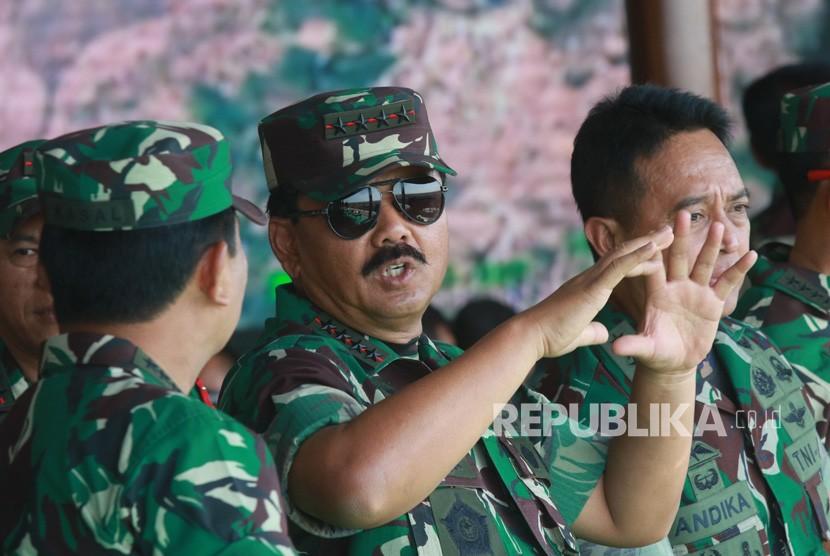 Panglima Adakan Mutasi, Letjen Ganip Warsito Jabat Kasum TNI