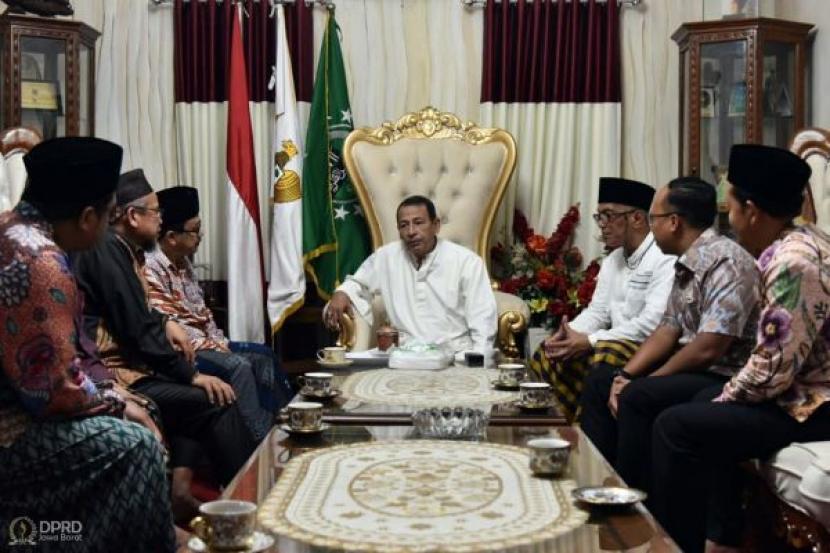 Pansus Vii Dprd Jabar Temui Habib Luthfi Bin Yahya Republika Online