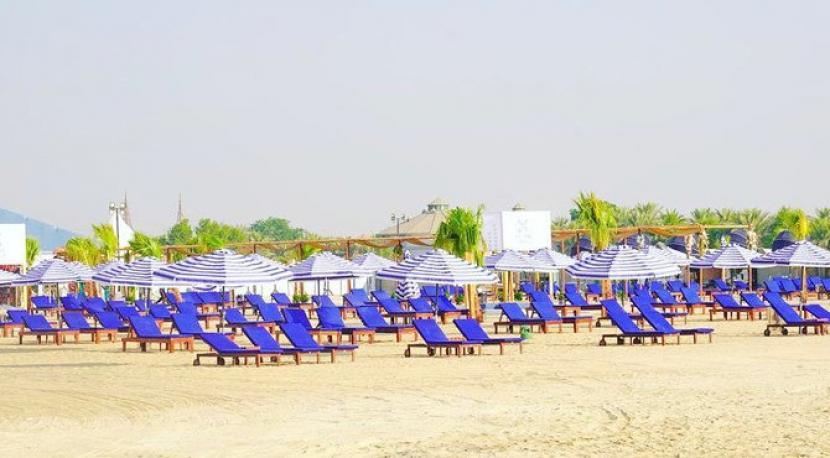 Pantai khusus wanita di Alkhobar, Provinsi Timur, Arab Saudi yang dikelola 180 Beach Club.