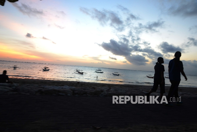 Pantai Kuta Bali. (Republika/Musiron)