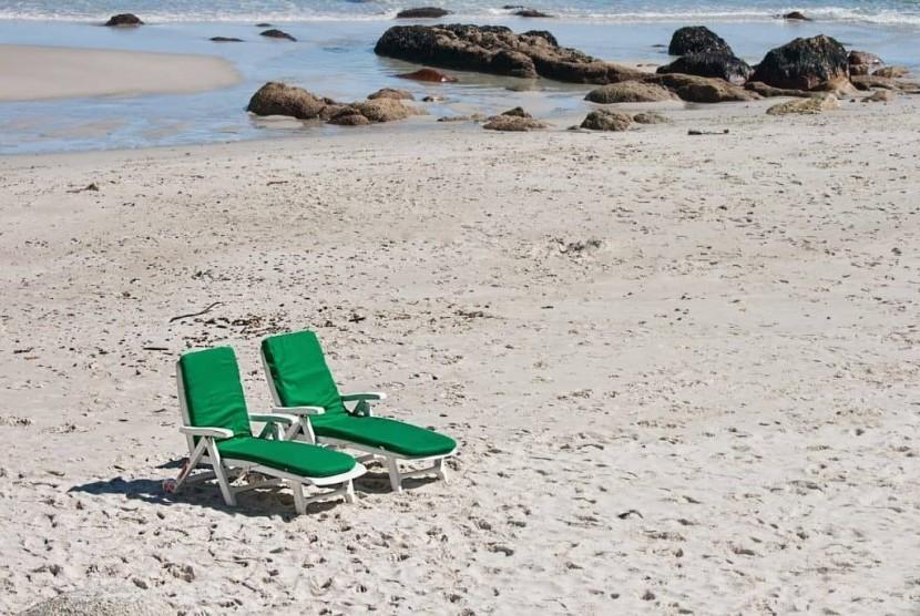 Pantai terpencil