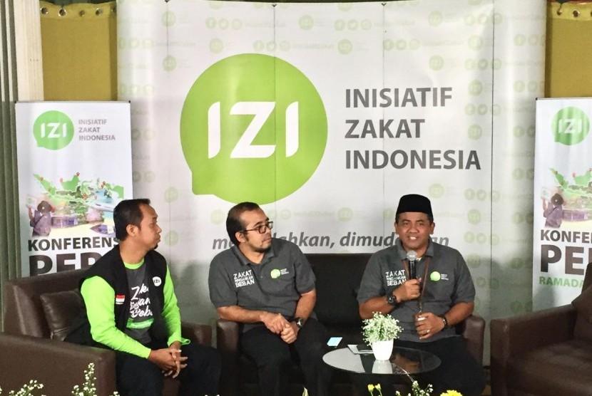 Paparan Ekspedisi Ramadhan 1440 H yang dilakukan Ikatan Zakat Indonesia (IZI) yang diadakan di Condet Festival Resto, Jakarta Timur, Selasa (14/5).