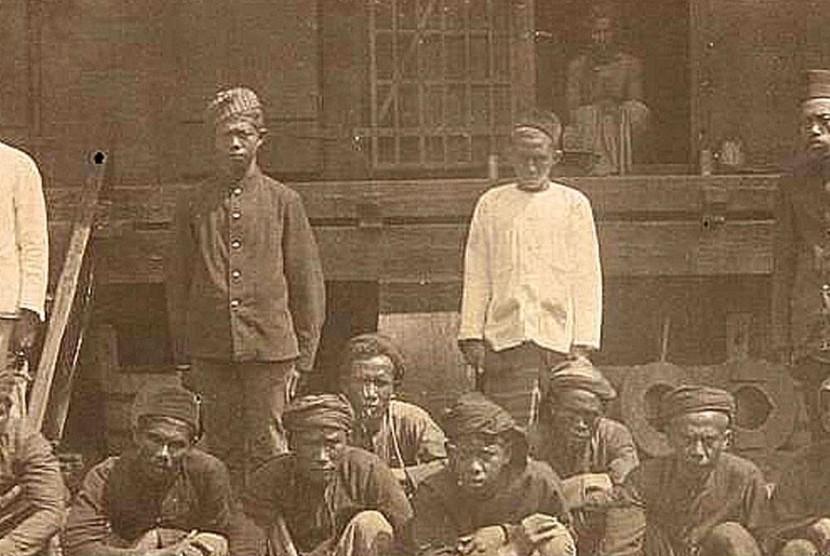 Kemiskinan akut di Jawa masa kolonial.