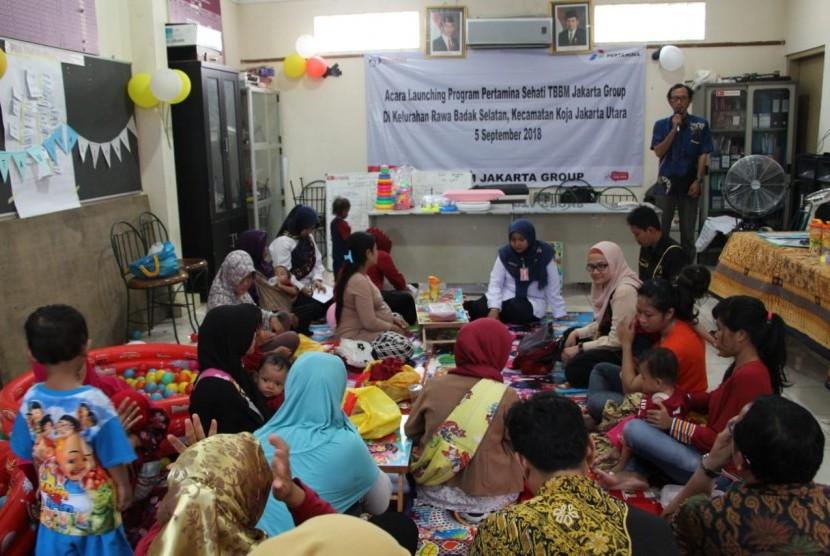 Launching Program Pertamina Sehati TBBM Jakarta