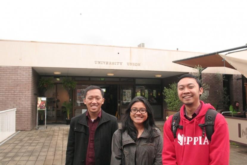 Para mahasiswa Indonesia di The Australian National University (ANU) Canberra.