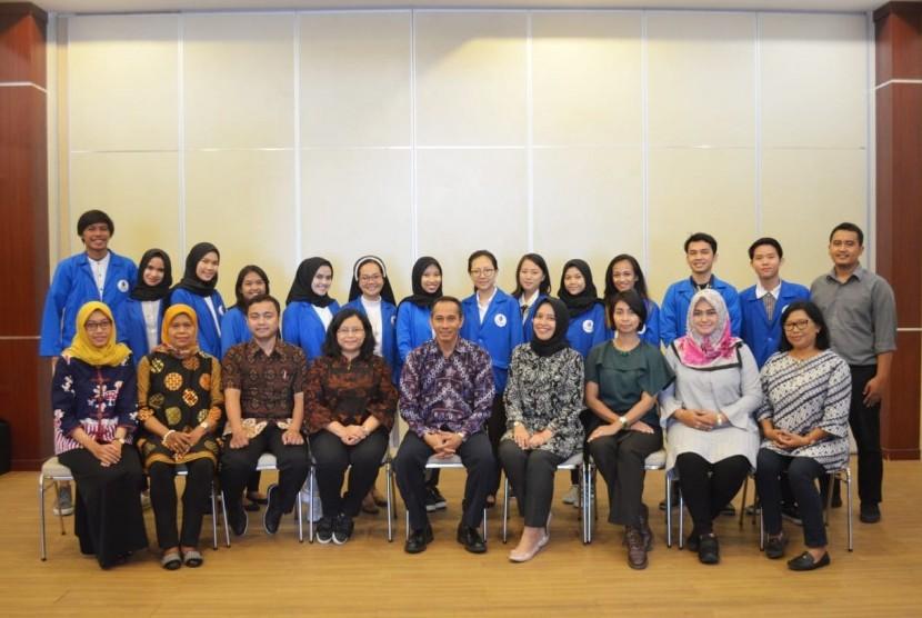 Para mahasiswa Universitas Mercu Buana Yogyakarta (UMBY) peserta KKN Internasional ke Malaysia pada Semester Gasal Tahun Ajaran 2018/2019 ini.