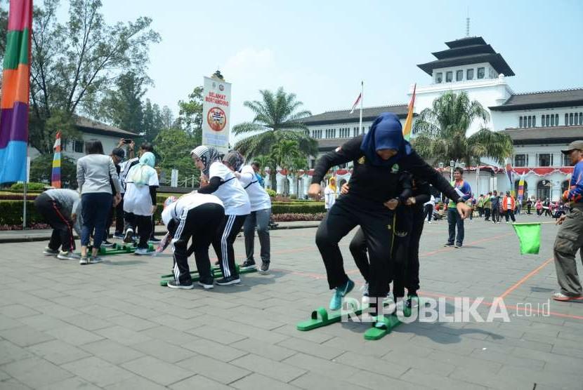 60 Persen Permainan Tradisional Kota Bandung Terlupakan Republika Online