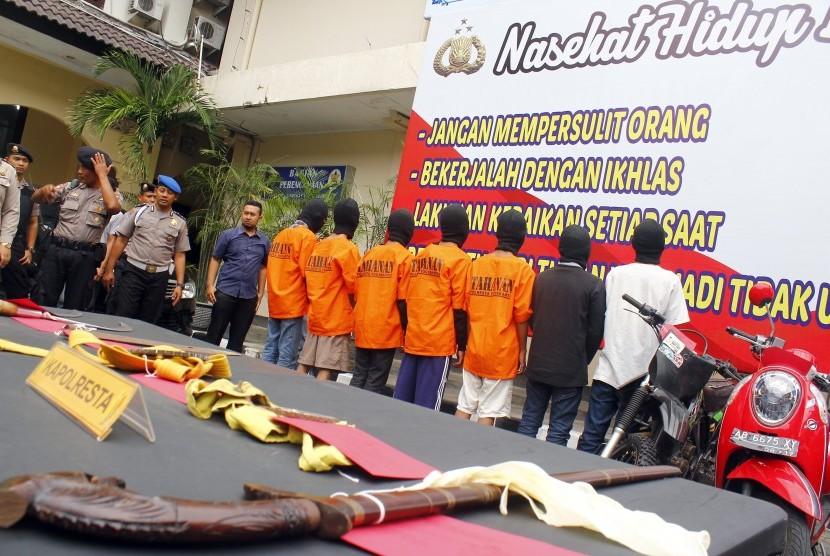 Polres Garut berhasil mengamankan delapan orang terduga pelaku pencurian kendaraan bermotor di wilayah Kabupaten Garut dalam dua bulan terkahir (Ilustrasi)