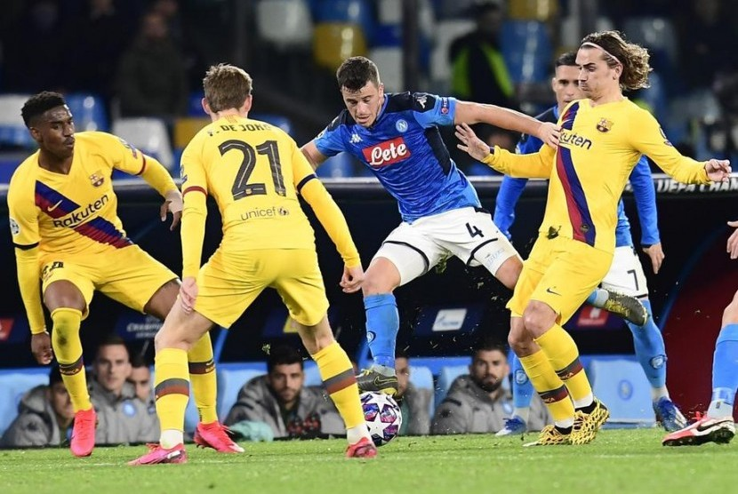 Uefa Siapkan Cadangan Tempat Laga Barcelona Vs Napoli Republika Online