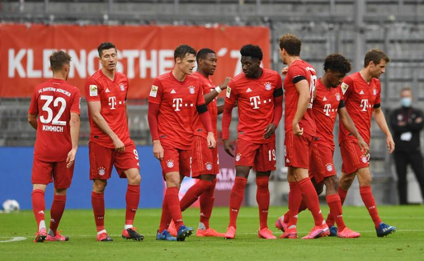 Fakta Angka Jelang Laga Dfb Pokal Munchen Vs Frankfurt Republika Online