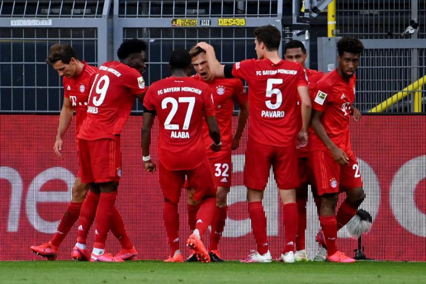Bayern Muenchen Menuju Gelar Kedelapan Bundesliga Beruntun