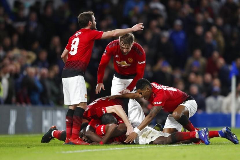 Para pemain Manchester United.