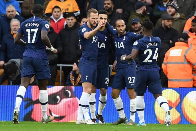 Tottenham Bekuk Wolves Lewat Gol Injury Time