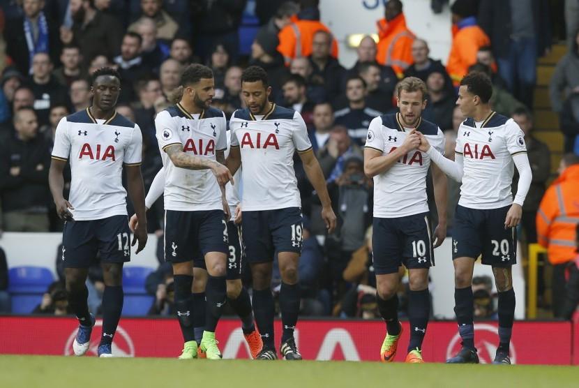 Para pemain Tottenham Hotspur (ilustrasi)
