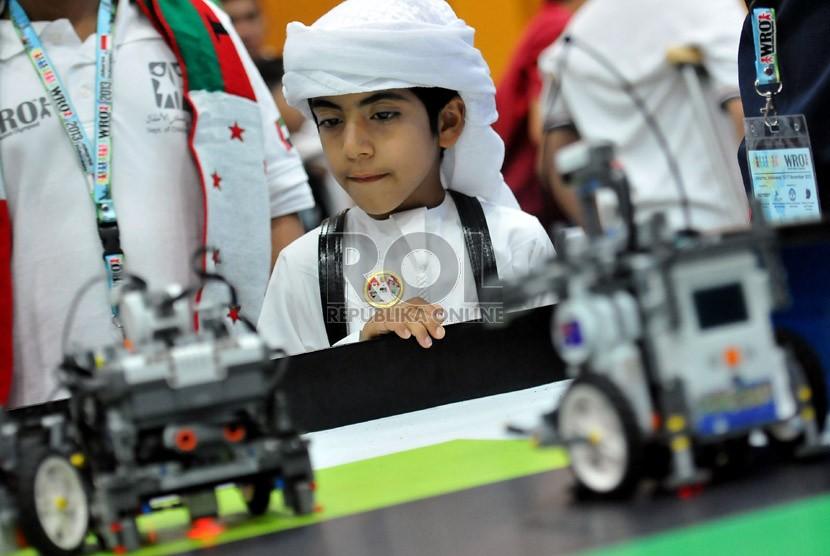 29 Indonesian teams follow the World Robot Olympiad 2013