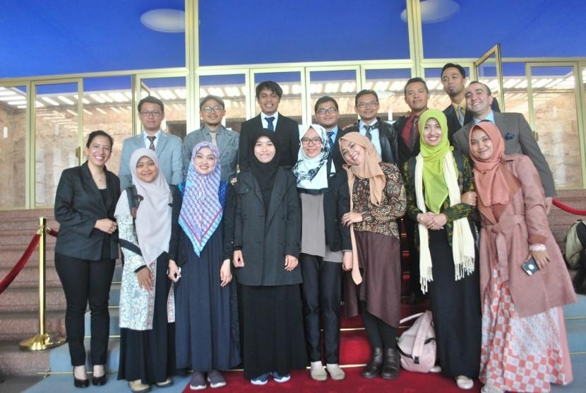 Para peserta program studi Life of Muslims in Germany 2018.