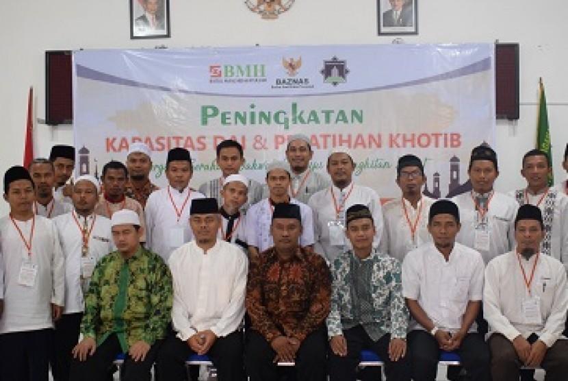 Para peserta upgrading dai pedalaman Kalimantan Utara (Kaltara).