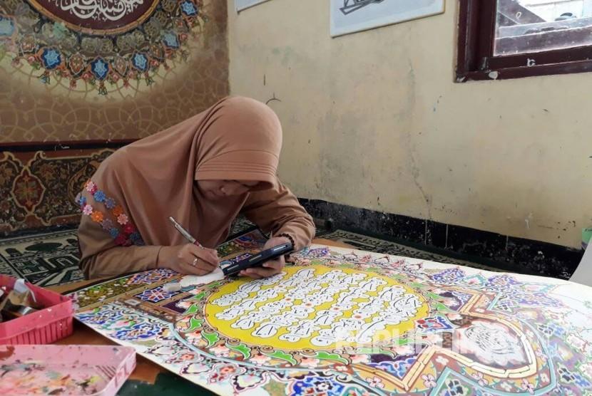 Ini Yang Buat Santri Mancanegara Ingin Belajar Kaligrafi Di