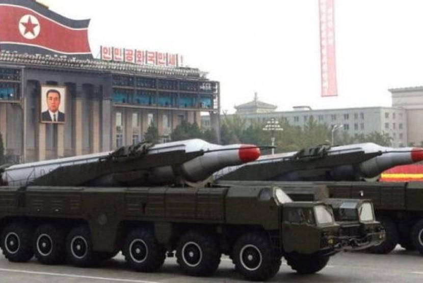 Parade Militer Korea Utara (Korut)